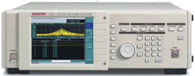ADVANTEST Q8341 350 to 1000 nm Optical Spectrum Analyzer