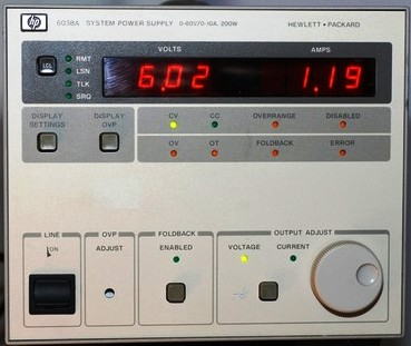 Keysight (Agilent) 6038A 60V 10A Single-Output Autoranging DC Power Supply