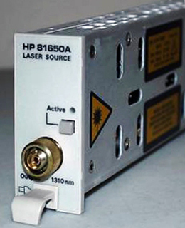 AGILENT 81650A 1310 nm Fabry Perot Laser Source Module