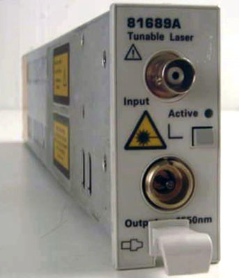 Keysight (Agilent) 81689A 1525 to 1575 nm Compact Tunable Laser Module