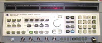 Keysight (Agilent) 8340A 26.5 GHz Synthesized Sweeper