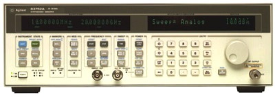AGILENT 83752A 20 GHz Synthesized Microwave Sweeper