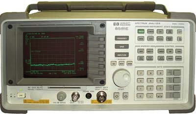 AGILENT 8595E 6.5 GHz RF Spectrum Analyzer
