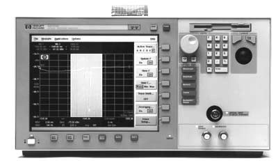 AGILENT 86142A 600 to 1700 nm High Performance Optical Spectrum Analyzer