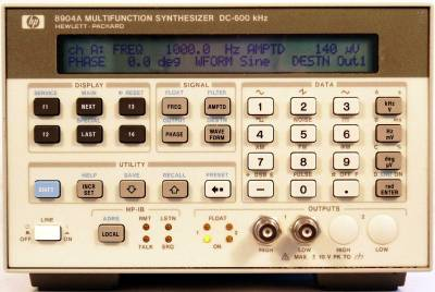 Keysight (Agilent) 8904A 600 kHz Multifunction Synthesizer