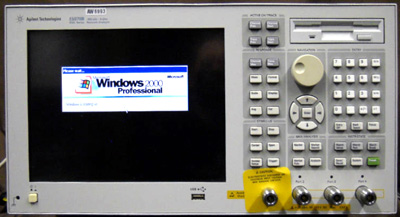 AGILENT E5070B 3 GHz ENA RF Network Analyzer