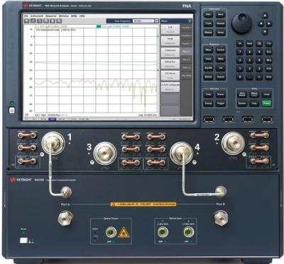 Keysight (Agilent) N4375E 26.5 GHz Single-Mode Lightwave Component Analyzer