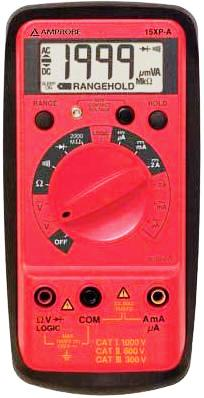 AMPROBE 15XP-A Digital Multimeter with Logic Test
