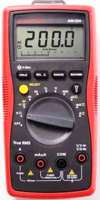 AMPROBE AM-530 True-rms Electrical Contractor Multimeter