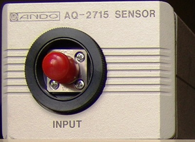ANDO AQ-2715 Optical Power Sensor