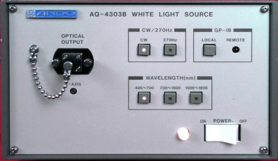 ANDO AQ-4303B White Light Source
