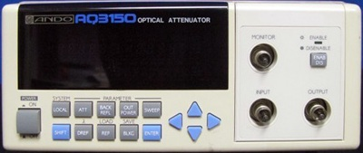 ANDO AQ3150 Optical Variable Attenuator