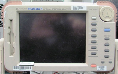 ANDO AQ6331 1200 to 1750 nm Optical Spectrum Analyzer