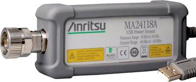 ANRITSU MA24118A 18 GHz, True-RMS, USB Power Sensor