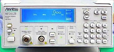 ANRITSU MF2412B 40 GHz Microwave Frequency Counter