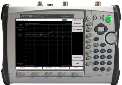 ANRITSU MS2026A 6 GHz VNA Master Handheld Vector Network Analyzer