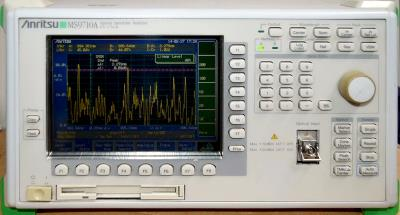 ANRITSU MS9710A 600 to 1750 nm Diffraction-grating Optical Spectrum Analyzer