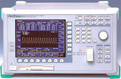 ANRITSU MS9710C 600 to 1750 nm Diffraction-grating Optical Spectrum Analyzer