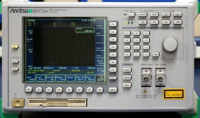 ANRITSU MS9720A 1450 to 1650 nm Optical Spectrum Analyzer