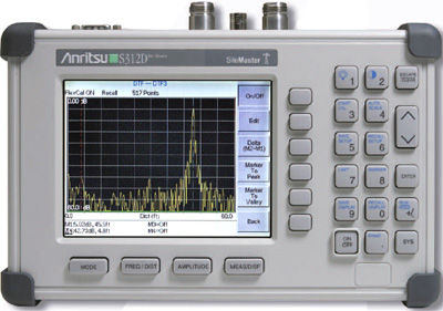 ANRITSU S312D Site Master Antenna and Cable Analyzer