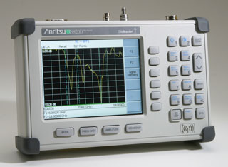 ANRITSU S810D 10.5 GHz Site Master Cable and Antenna Analyzer