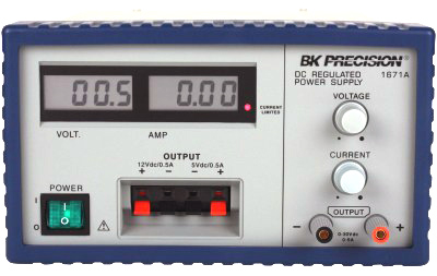 BK PRECISION 1671A Triple Output DC Power Supply