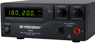 BK PRECISION 1688B 18V 20A Single Output DC Power Supply