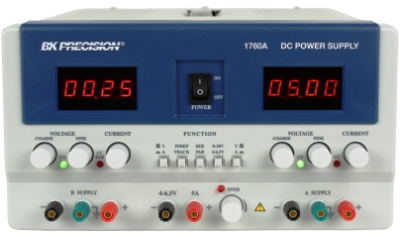 BK PRECISION 1760A Triple Output DC Power Supply