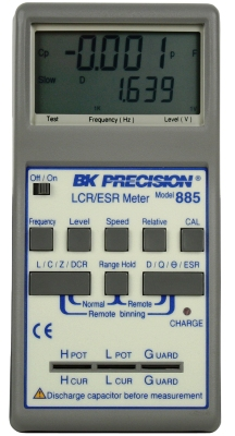 BK PRECISION 885 10 kHz Handheld Synthesized In-Circuit LCR/ESR Meter