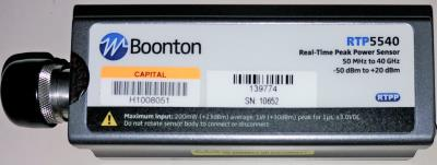 BOONTON RTP5540 40 Real-Time Peak Power Sensor
