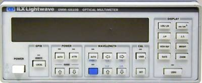 ILX LIGHTWAVE OMM-6810B Optical Power and Wavelength Meter