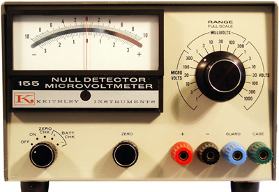 KEITHLEY 155 Null Detector-Microvoltmeter