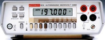 KEITHLEY 197A Autoranging Microvolt Digital Multimeter