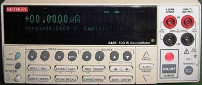 KEITHLEY 2425 105 V Source Meter w/ Measurements