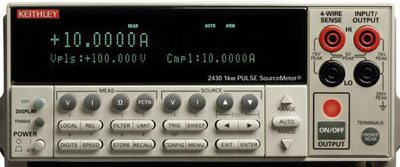 KEITHLEY 2430 Pulse Mode Source Meter w/ Measurements