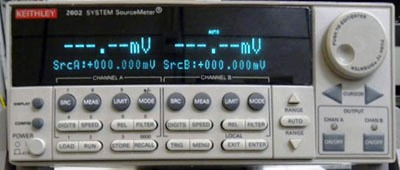 KEITHLEY 2602 Dual-Channel System Source Meter