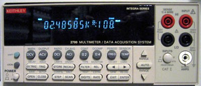 KEITHLEY 2700 DMM, Data Acquisition/Data logging System