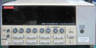 KEITHLEY 6487 Picoammeter/Voltage Source