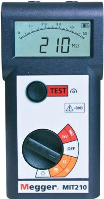 MEGGER MIT210 1000V Insulation and Continuity Tester