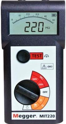 MEGGER MIT220 250/500V Insulation and Continuity Tester
