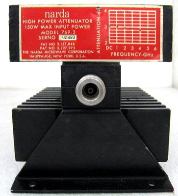 NARDA 769-3 6 Ghz 3 dB RF Fixed Attenuator