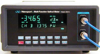 NEWPORT 2835-C Dual Channel High-Performance Optical Meter