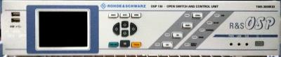 ROHDE & SCHWARZ OSP130 Open Switch and Control Platform, display and control panel