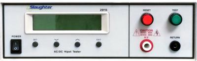 SLAUGHTER 2945 5KVAC, 6KVDC Withstanding Voltage/Insulation Resistance Test
