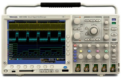 TEKTRONIX MSO4104 4+16 Ch 1 GHz, 5 GS/s, Mixed Signal Oscilloscope