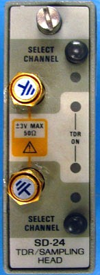 TEKTRONIX SD24 Dual-channel TDR / Sampling Head