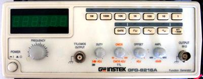 INSTEK GFG-8216A 3 MHz Function Generator w/Counter