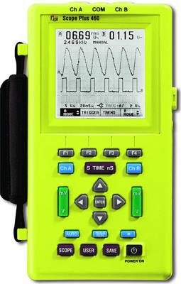 TEST PRODUCTS INTERNATIONAL 460 20 MHz Hand Held Oscilloscope