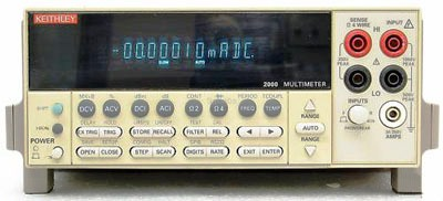Keithley Calibration